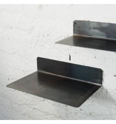 Petite étagère murale industrielle en métal