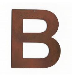 Lettre ancienne - Lettre métallique vintage - Lettre deco pas cher