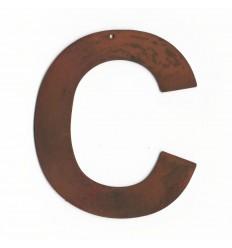 Grande lettre deco - Lettre enseigne vintage - Lettre découpée pour enseigne