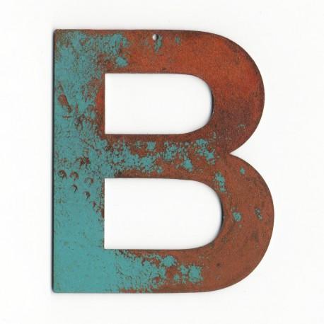 Lettre ancienne - Lettre décorative - Lettre deco murale