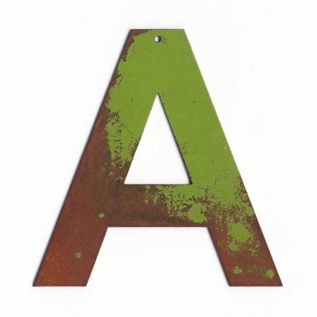 lettre relief - lettre en fer - lettre vintage - lettre décorative - lettre ancienne