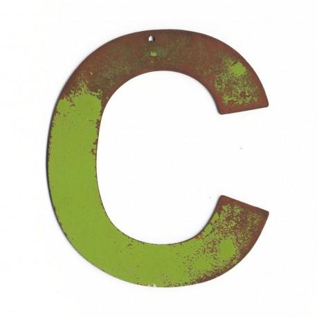 lettre géante - lettre ancienne - lettre déco - lettre enseigne