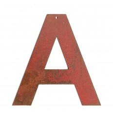 Lettre red vintage 8cm