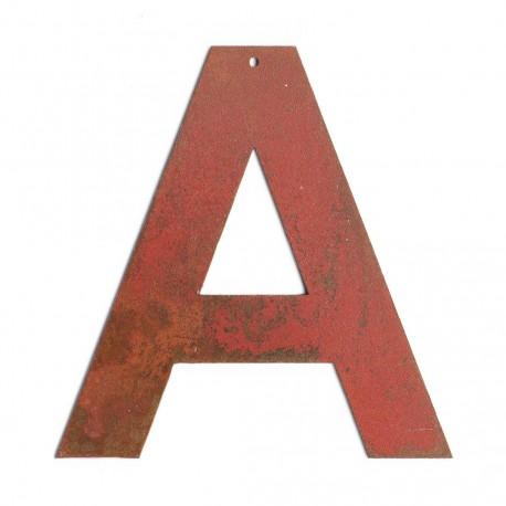 lettre vintage - lettre decorative a poser - lettre ancienne- lettre industrielle