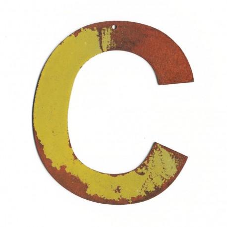 Grosse lettre décorative - Lettre géante - lettre enseigne vintage