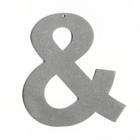 Lettre enseigne metal - Lettre découpée pour enseigne