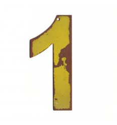 Chiffre Yellow vintage 8cm