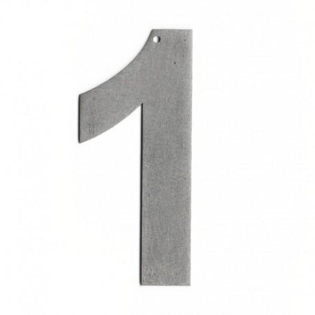 Chiffres en lettres - Numéro pour maison design