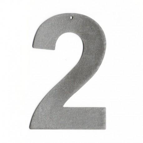 Chiffres en lettres acier - Chiffre pour maison metal